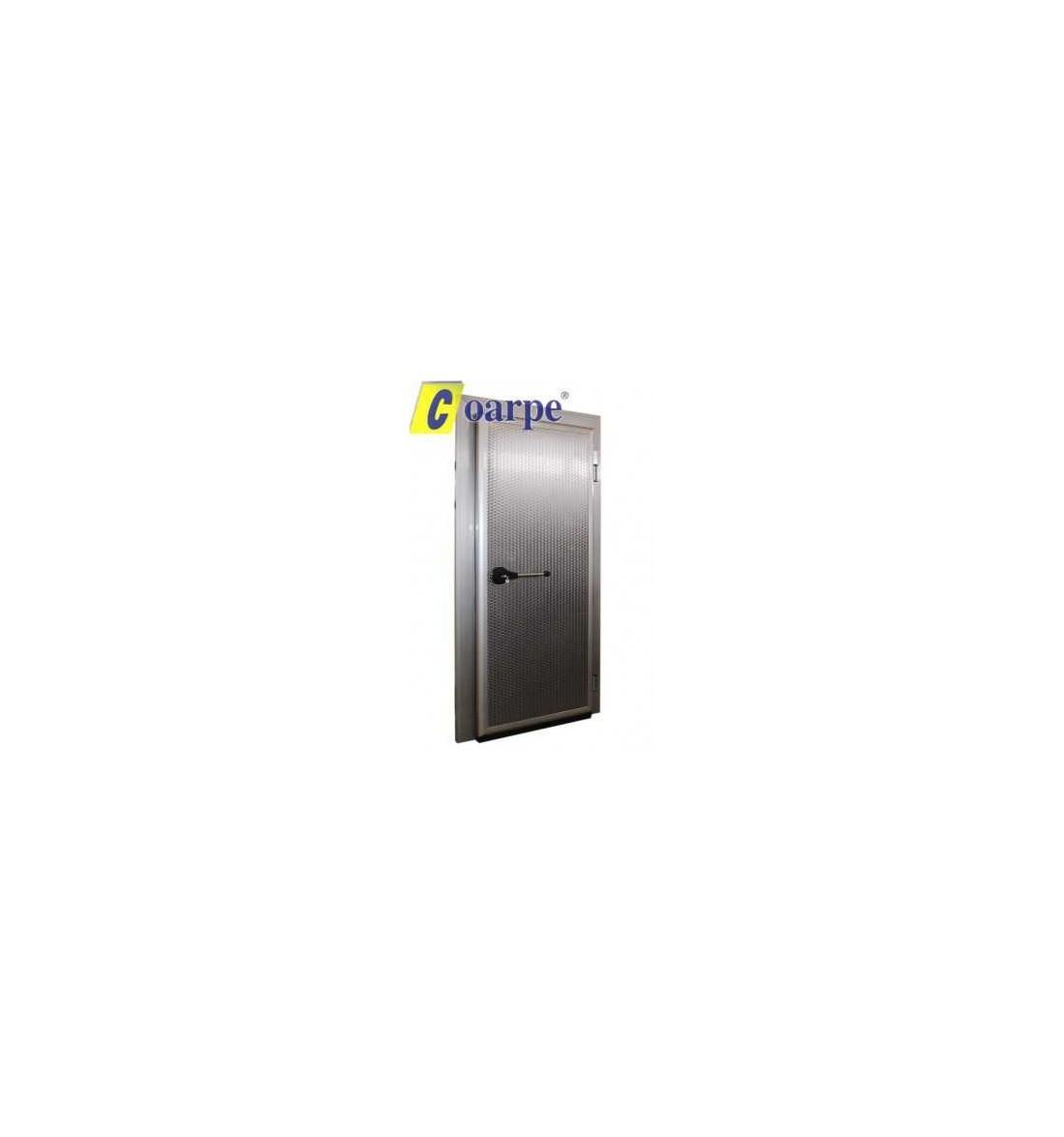 Puerta pivotante frigorífica de conservación