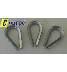 Guardacabo Acero Galvanizado 3mm