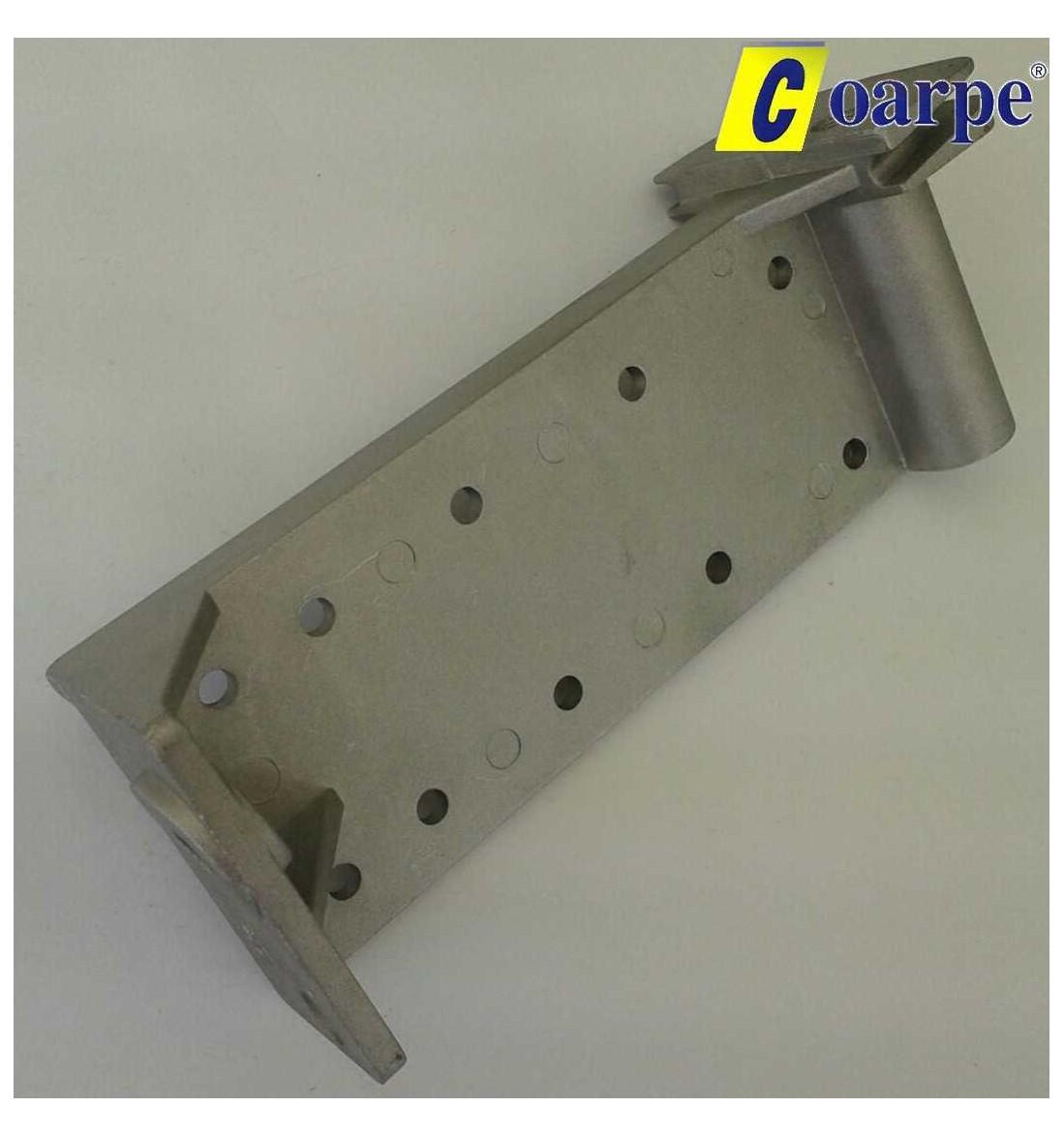 Placa base regulable de aluminio