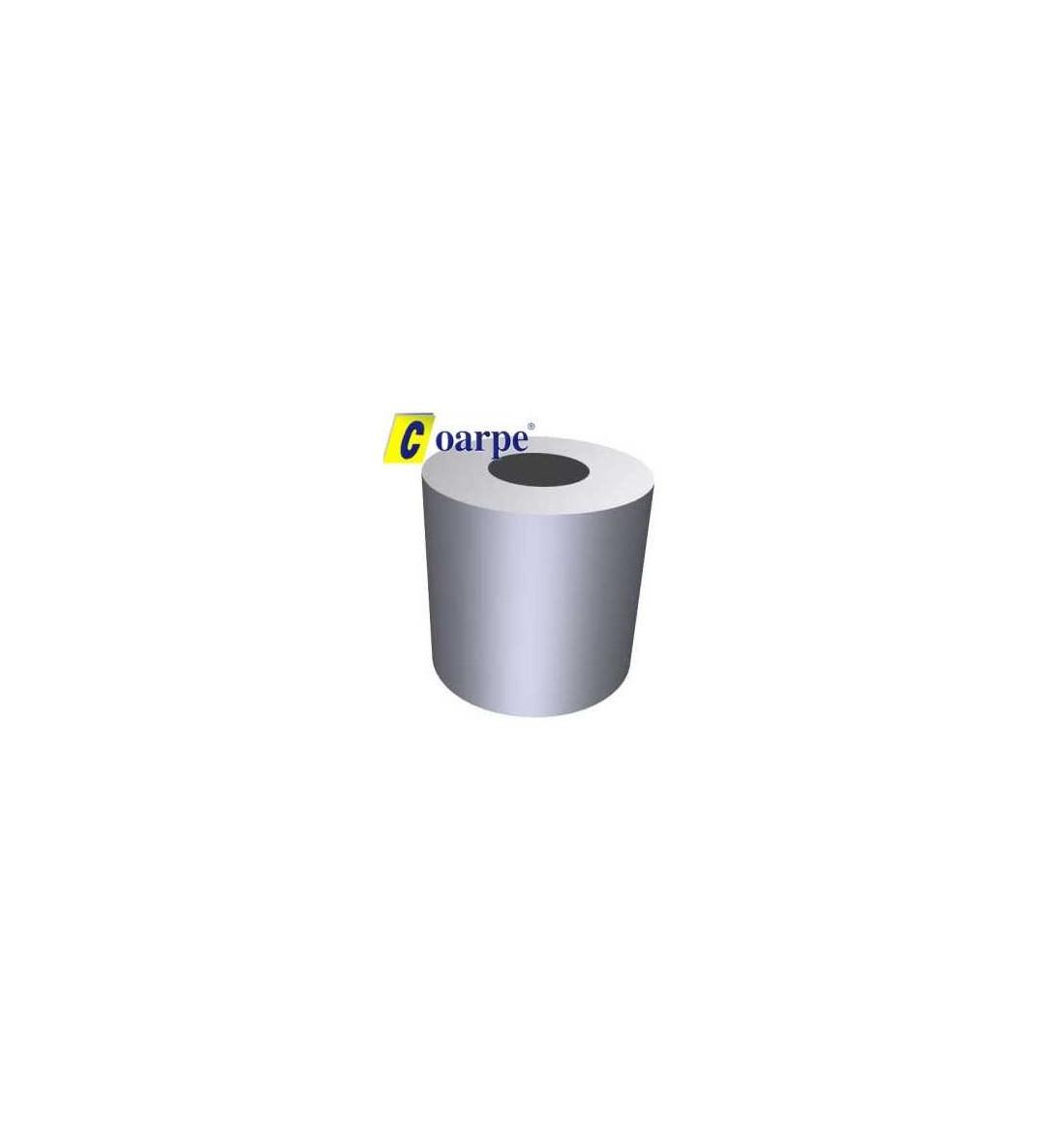 Opresor redondo en aluminio de 3 mm