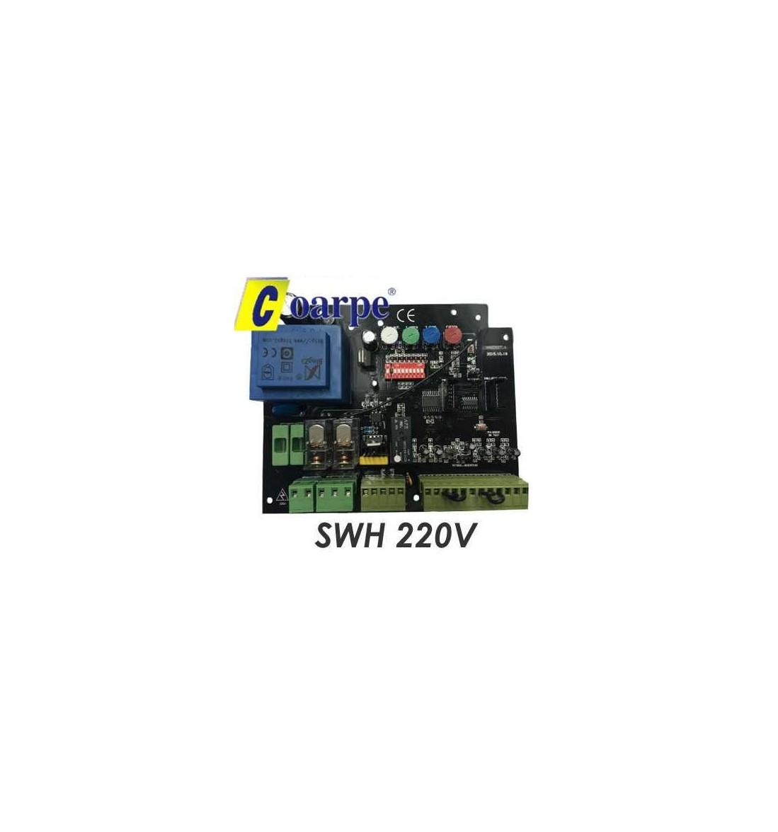 Central + receptor multimarca SWH 220V motor batiente hidráulico