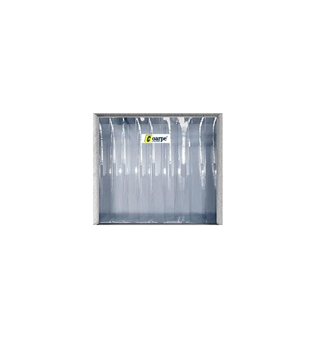 Cortina fija de lamas 1/H PVC