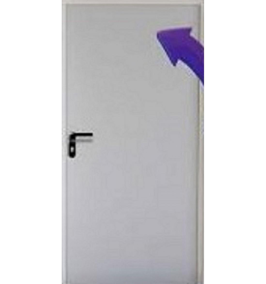 Puerta Multiusos 800x2050 Sin Ventilación Reversible